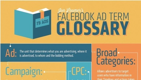 Learn the Facebook Ads lingo with this infographic | e-commerce & social media | Scoop.it