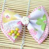 Making Fabric Bow Tie Hair Bows for Little Girls Tutorial | fine diy jewelry | Scoop.it