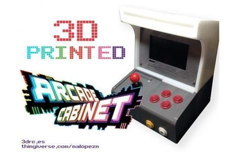 3D Printed Arcade Cabinet Powered By A Raspberry Pi - Geeky Gadgets | Raspberry Pi | Scoop.it