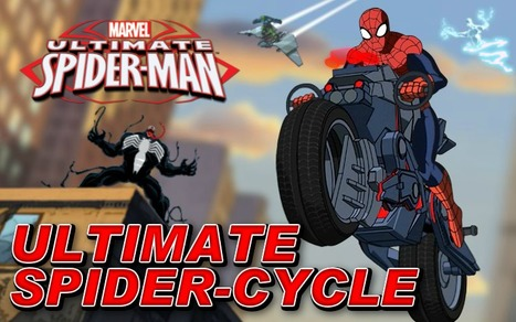 Ultimate Spider Cycle - Play Best Spiderman Games | game | Scoop.it