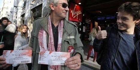 Rolling Stones : les fans assaillent les Champs - Nouvel Obs | Bruce Springsteen | Scoop.it