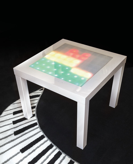 Transform an Ikea Side Table into a Music Visualizer | Raspberry Pi | Scoop.it