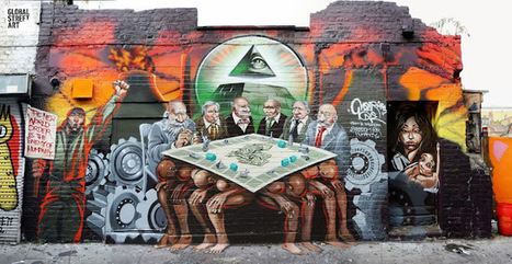 Street Art: Protesting the NWO | Alternative | World of Street & Outdoor Arts | Scoop.it