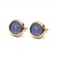 Men's Masonic Gold Plated Blue Dial Watch Cufflinks G413 | Masonic Gifts | Scoop.it