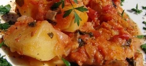 ΜΠΑΚΑΛΙΑΡΟΣ ΜΕ ΠΑΤΑΤΕΣ ΓΙΑΧΝΙ - Μια πολύ καλή συνταγή | Greek traditional recipes | Scoop.it