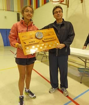 The top female runner was Sophie Pereira, securing the Wikwemikong Board of Education trophy | Sophie Pereira Track  running | Scoop.it