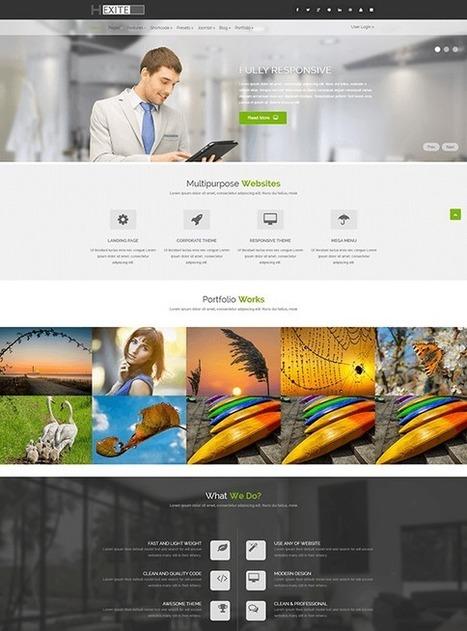 TM Hexite - Responsive Creative Joomla Template | Free & Premium Joomla Templates and WordPress Themes | Scoop.it