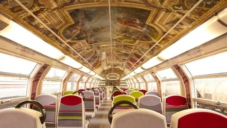 French trains renovated to resemble Palace of Versailles - CTV News | Railway anthology | Scoop.it