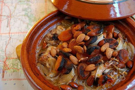 Tajine au four poulet, abricot et amande   Couture, cuisine jardinage   Scoop.it