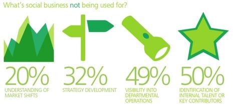 Social Business : C'est encore le flou pour beaucoup d'entreprises selon Deloitte   web digital strategy   Scoop.it