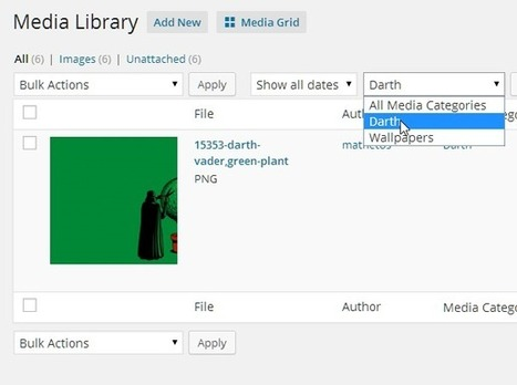Making the WordPress Media Library Your Friend | OpenEdFoundry | Scoop.it
