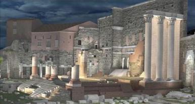 La nueva iluminación del Foro Romano revelará detalles nunca vistos | Mundo Clásico | Scoop.it
