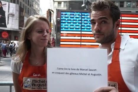 Exclu : la vidéo de Street Marketing de Michel et Augustin à New York | Widoobiz | Marketing, e-marketing, digital marketing, web 2.0, e-commerce, innovations | Scoop.it