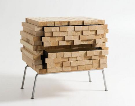 Pile de bois : un meuble original par Boris Dennler palettes Scoop ...