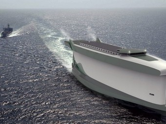 World's most 'eco-friendly' cargo ship to use its own hull to sail | Eco-innovation in the EU | Scoop.it