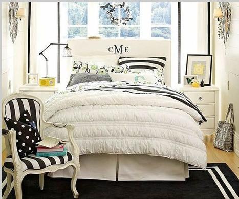 Teenage Girls Rooms Inspiration: 55 Design Ideas | Designing Interiors | Scoop.it