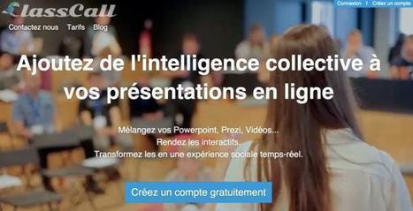 ClassCall. Un outil complet pour la formation à distance et les présentations en ligne – Les Outils Tice | Gestion des connaissances | Scoop.it