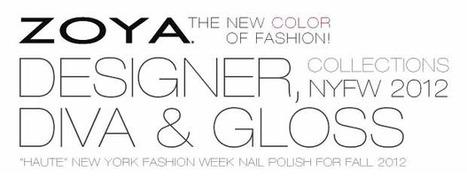 Zoya Nail Polish, Zoya Nail Care Treatments and Zoya Hot Lips Lip Gloss: Zoya Nail Polish Unveils Fall 2012 Collections: Designer, Diva & Gloss   Fall Nail Polish   Scoop.it