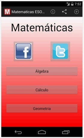 Matemáticas ESO: Aplicación para Android | matematica | Scoop.it