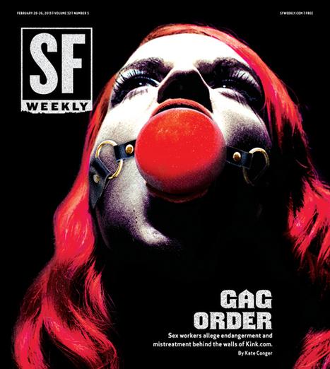 Gag Order: Sex Workers Allege Mistreatment at Kink.com   Escorts   Scoop.it