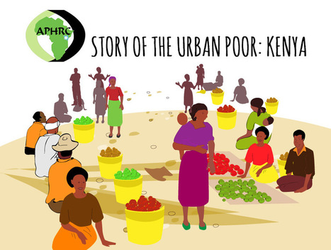 APHRC Infographics: A Slice of life, living in a Kenyan Slum - Doubled | Financial Inclusion & Mobile Money | Scoop.it