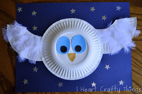 I HEART CRAFTY THINGS: The Little White Owl Craft | Trabalhos Manuais no Jardim de Infância | Scoop.it