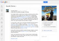 Les URL personnalisées arrivent sur Google+!! | Bien bloguer | Scoop.it