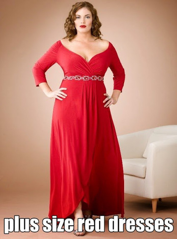 Plus size red dresses | Curvefashion | Scoop.it