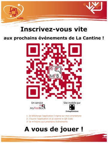 Inscription 2.0 aux évènements de La Cantine Toulouse | La Cantine Toulouse | Scoop.it