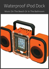 Waterproof iPod Dock: Take Your Music To The Beach, Pool Or Bathroom | Things For The Home | Scoop.it