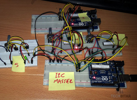 How to Network Five Arduinos (or more) using I2C | Raspberry Pi | Scoop.it