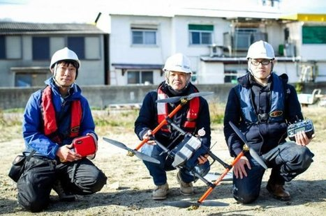 Japan Tests Drone Delivery to Islands | Planning, Budgeting & Forecasting | Scoop.it