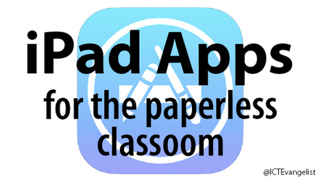 30 essential iPad Apps for the paperless classroom | ICT Nieuws | Scoop.it