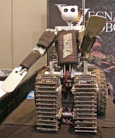 BEAR : un robot pour assister les militaires en mission | Post-Sapiens, les êtres technologiques | Scoop.it