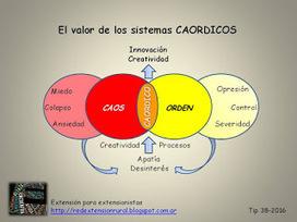 Extensión para extensionistas: El valor de los sistemas CAORDICOS (Caos + Orden) | El Aprendizaje 2.0 y las Empresas | Scoop.it