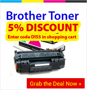 Avail 5% Discount on Compatible Brother Toner Cartridges Enter Code - DIS5 | Find the Best Value Ink and Toner Cartridges with Multipack Deals in Ireland | Scoop.it