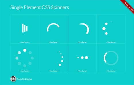Single Element CSS Spinners | Stylish Web | Scoop.it