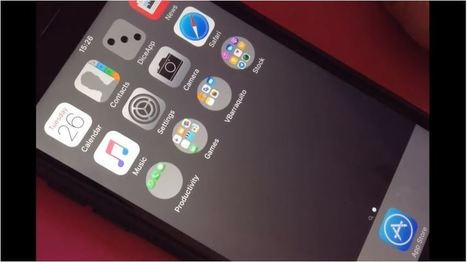 Set Round Folders for iPhone and iPad On Your Home Screen | GoToWebsites | Scoop.it