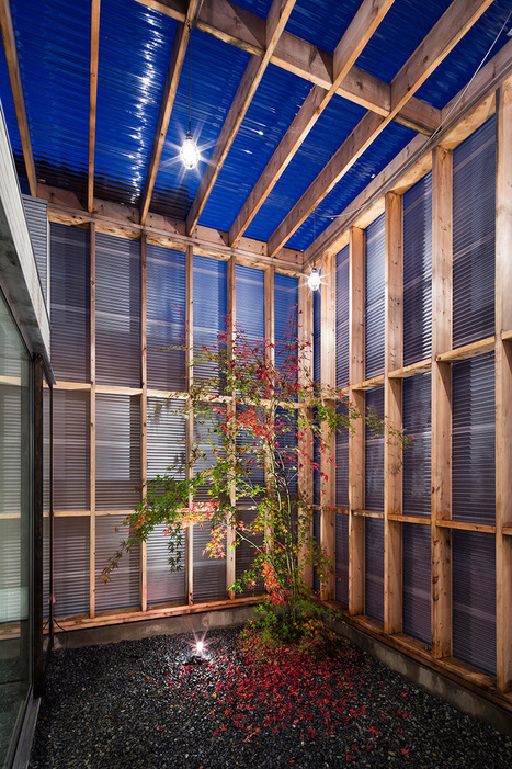 garage-terrace house in kyoto by yoshiaki yamashita | Building with wood | Scoop.it