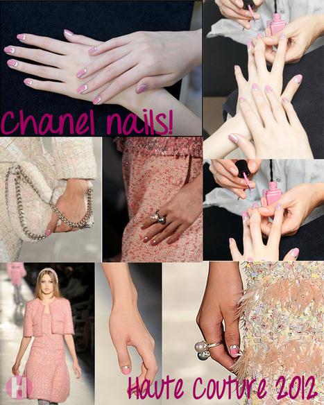 Las uñas del último desfile de Chanel + mini tutorial! | Hache Beauty | Diseño de Uñas | Scoop.it