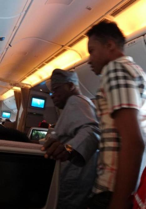 Drama On Emirates Flight As Nigerian Passengers Boo Former President Obasanjo   African Travel Updates   Writing  shares   Scoop.it