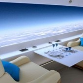 Supersonic Jet Ditches Windows for Massive Live-Streaming Screens | Autopia | Wired.com | Schiphol | Scoop.it