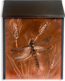 Greg Hentzi Designs: Locking Copper Wall Mount Mailbox - Great Dragonfly - mailboxes | Craft Ideas | Scoop.it