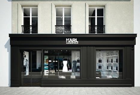 Karl Lagerfeld installe son deuxième concept store dans le Marais ; ouverture le 7 juin ! | Fashion, mode | Scoop.it