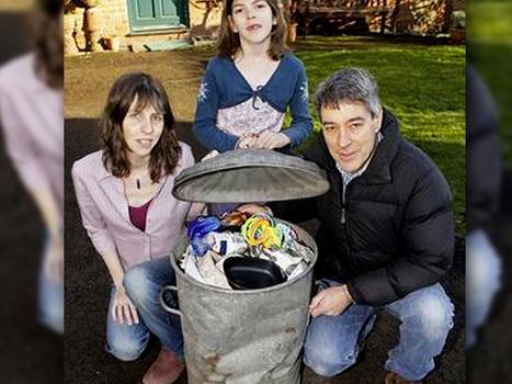 ¿Cómo hace esta familia para generar sólo una bolsa de basura al año? (+reciclaje) | Infraestructura Sostenible | Scoop.it