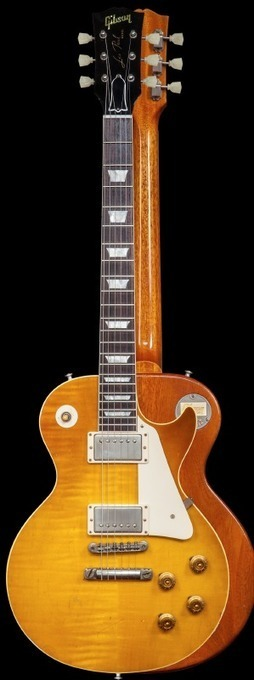 """Gibson Custom Introduces Collector's Choice #26 1959 Les Paul """"Whitford 'Burst ... - Guitar World Magazine 