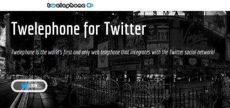 Twelephone, llamadas de voz y vídeo usando nuestro ID de Twitter | Eudaimonia | Scoop.it