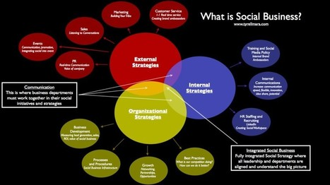 Social Business or Social Media: A Visual Perspective | WEBOLUTION! | Scoop.it