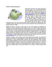 Benefits of Waste Management | Recycle Brisbane | Scoop.it
