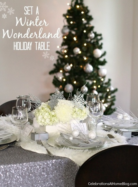 WINTER WONDERLAND HOLIDAY PARTY IDEAS | Christmas | Scoop.it
